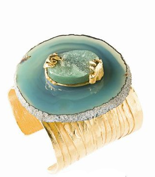 Fashion Jewelry Charms - YSL 2010 Early Spring Series Agate Bangle